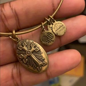 Alex and Ani Armenian cross necklace